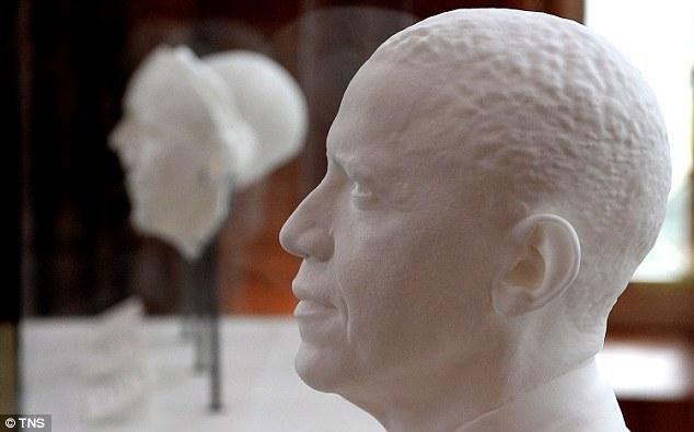 Obama 3D bust
