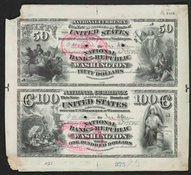 bank note proof
