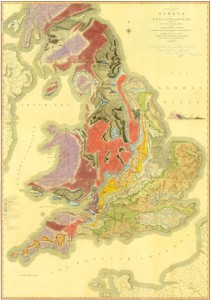 William Smith map 1815   Photo - The Geological Society