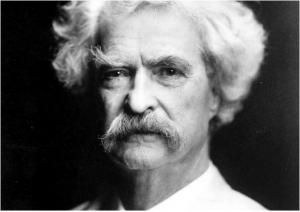 Author Mark Twain(via AP)