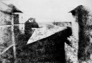 View from the Window at Le Gras, 1826–27 (manually enhanced version)